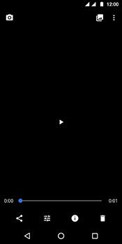 Motorola Moto G6 - Photos, vidéos, musique - Créer une vidéo - Étape 19