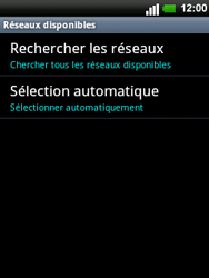 LG C660 Optimus Pro - Réseau - utilisation à l'étranger - Étape 10
