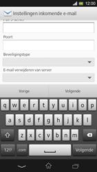 Sony C5303 Xperia SP - E-mail - Handmatig instellen - Stap 9