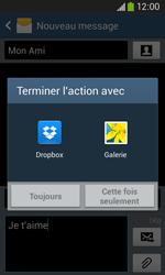 Samsung Galaxy Ace 3 - Contact, Appels, SMS/MMS - Envoyer un MMS - Étape 15