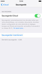 Apple iPhone 6s iOS 10 - Device maintenance - Back up - Étape 15