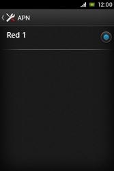 Sony Xperia E - Mensajería - Configurar el equipo para mensajes multimedia - Paso 7