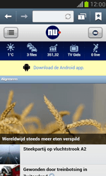 Samsung I8190 Galaxy S III Mini - Internet - Hoe te internetten - Stap 11