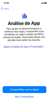 Apple iPhone X - iOS 12 - Primeiros passos - Como ativar seu aparelho - Etapa 26