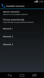 LG D821 Google Nexus 5 - Network - Usage across the border - Step 8