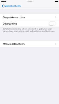 Apple Apple iPhone 6s Plus iOS 10 - Internet - Dataroaming uitschakelen - Stap 6