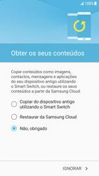 Samsung Galaxy S7 Edge - Android Nougat - Primeiros passos - Como ligar o telemóvel pela primeira vez -  19