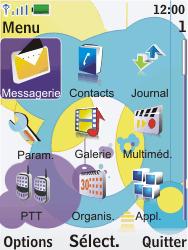 Nokia 7310 supernova - E-mail - Configuration manuelle - Étape 3