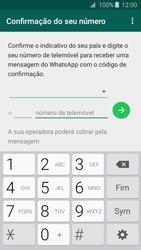 Samsung Galaxy J3 (2016) - Aplicações - Como configurar o WhatsApp -  6