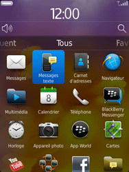 BlackBerry 9810 Torch - SMS - Configuration manuelle - Étape 3