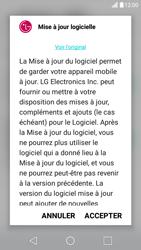 LG X Screen - Réseau - Installation de mises à jour - Étape 8