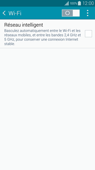Samsung N910F Galaxy Note 4 - Wifi - configuration manuelle - Étape 4