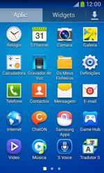 Samsung Galaxy Ace 3 LTE - SMS - Como configurar o centro de mensagens -  3