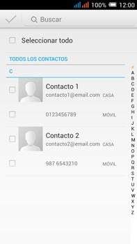 Alcatel Pop C9 - Mensajería - Escribir y enviar un mensaje multimedia - Paso 6