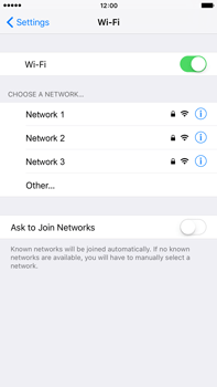 Apple iPhone 6s Plus - Wi-Fi - Connect to a Wi-Fi network - Step 5