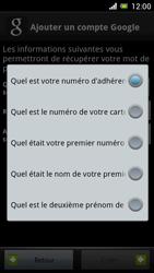 Sony Ericsson Xpéria Arc - Premiers pas - Créer un compte - Étape 18
