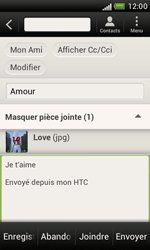 HTC T328e Desire X - E-mail - envoyer un e-mail - Étape 13