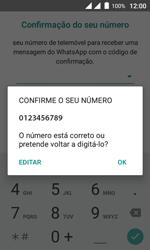 Wiko Sunny DS - Aplicações - Como configurar o WhatsApp -  10
