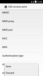 Huawei Y625 - MMS - Manual configuration - Step 14