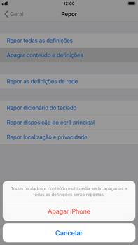 Apple iPhone 8 Plus - iOS 12 - Repor definições - Como repor definições de fábrica do telemóvel -  7