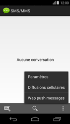 Acer Liquid E600 - SMS - configuration manuelle - Étape 5