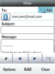 Nokia C2-03 - E-mail - Sending emails - Step 11
