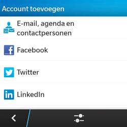BlackBerry Q5 - E-mail - Account instellen (POP3 met SMTP-verificatie) - Stap 6