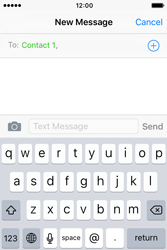 Apple iPhone 4 S iOS 9 - Mms - Sending a picture message - Step 6