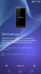Sony Xpéria M2 - Premiers pas - Créer un compte - Étape 3