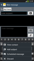 Samsung Galaxy S4 VE - Mms - Sending a picture message - Step 9