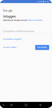 Samsung Galaxy S9 Plus - Applicaties - Account instellen - Stap 4