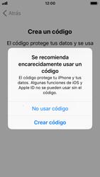Apple iPhone SE iOS 11 - Primeros pasos - Activar el equipo - Paso 15