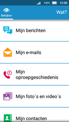 Doro 8031 - E-mail - Account instellen (IMAP met SMTP-verificatie) - Stap 4