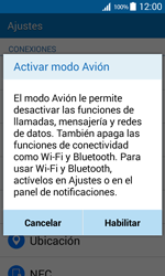 Samsung Galaxy Core Prime - Funciones básicas - Activar o desactivar el modo avión - Paso 5