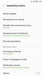 Samsung Galaxy S7 - Android Nougat - Messagerie vocale - configuration manuelle - Étape 7