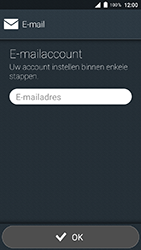 Doro 8035 - E-mail - Account instellen (IMAP met SMTP-verificatie) - Stap 5