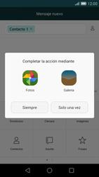 Huawei Ascend G7 - Mensajería - Escribir y enviar un mensaje multimedia - Paso 15