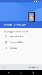 LG Google Nexus 5X - E-mail - Configurer l