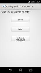 Sony D2203 Xperia E3 - E-mail - Configurar correo electrónico - Paso 7