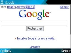 Nokia E71 - Internet - navigation sur Internet - Étape 8