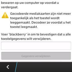 BlackBerry Q5 - Resetten - Fabrieksinstellingen terugzetten - Stap 6