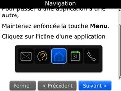 BlackBerry curve 3G - Premiers pas - Créer un compte - Étape 13
