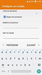 ZTE Blade V8 - E-mail - Configurer l