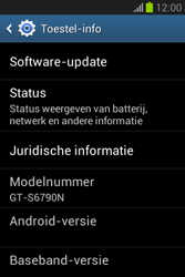 Samsung Galaxy Fame Lite (S6790) - Software updaten - Update installeren - Stap 5