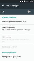 Alcatel Pixi 4 (5) 4G (5045X) - WiFi - Mobiele hotspot instellen - Stap 10