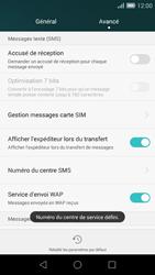 Huawei Ascend G7 - SMS - configuration manuelle - Étape 9