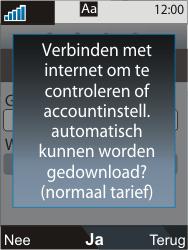 Sony Ericsson C903 - E-mail - Handmatig instellen - Stap 9