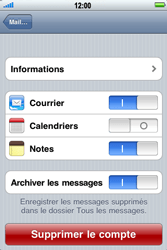 Apple iPhone 4 - E-mail - Configuration manuelle - Étape 11