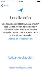 Apple iPhone SE - Primeros pasos - Activar el equipo - Paso 10