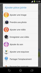 Sony Xpéria Z1 - Contact, Appels, SMS/MMS - Envoyer un MMS - Étape 16